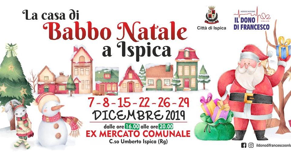 La casa di Babbo Natale 2019