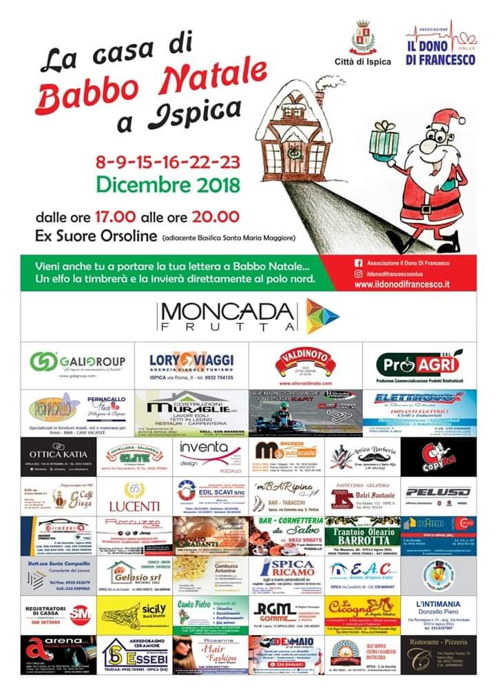 Babbo Natale 8 Dicembre Roma.La Casa Di Babbo Natale Associazione Il Dono Di Francesco Onlus